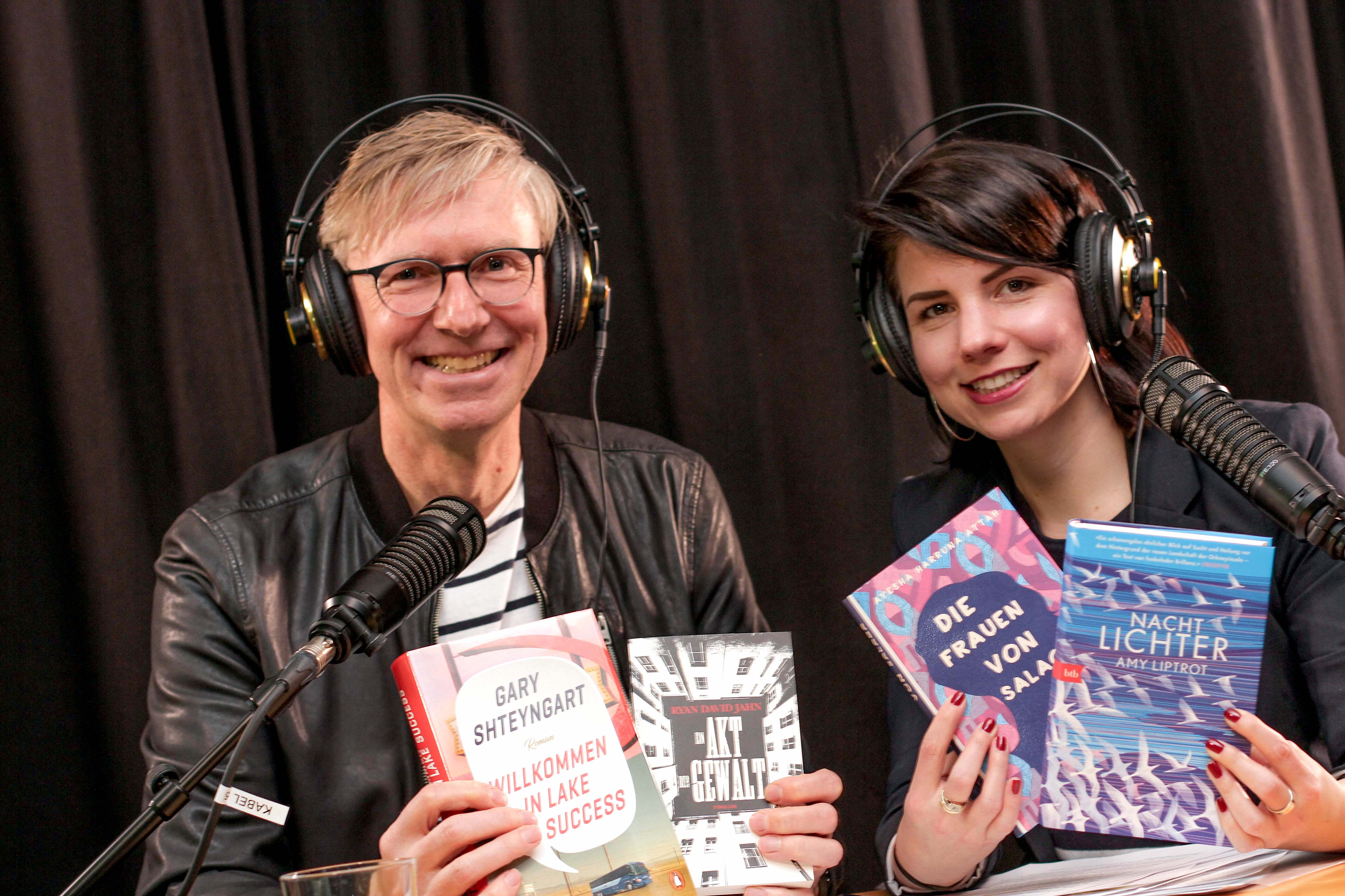 Podcast, Literatur, Long Story Short, Karla Paul, Günter Keil, Buchpodcast